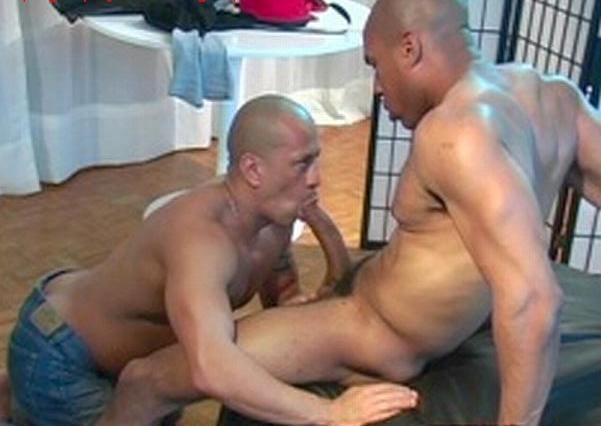 Black Muscle Stud Big Dick